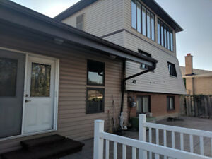2 bedroom basement w sep ent in a custom house E Mississauga