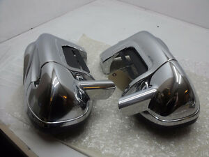New Aftermarket Chrome Fairing Lowers 97-13 Touring HD