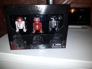 Star wars Black Series Astromech 3-pack figures