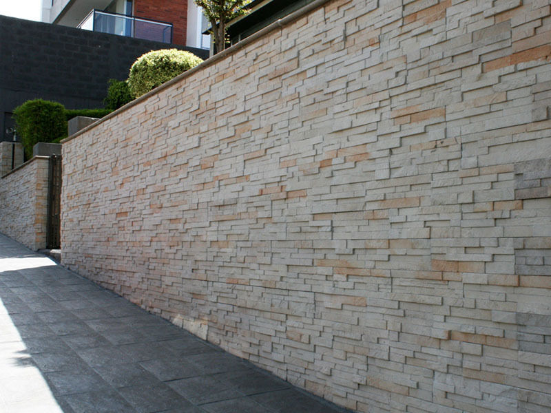 How to install exterior stone veneer panels ebay for Exterior stone cladding panels