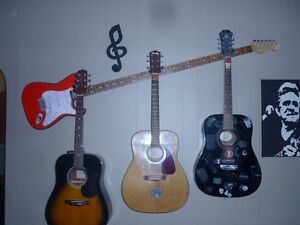 guitar stands and guitar hangers