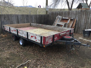 For sale 12'x7'  trailer
