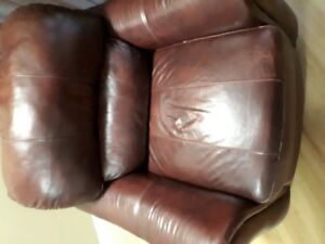 Used Modesto Leather Arm Chair