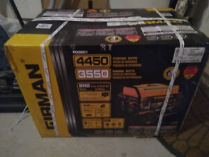 Firman Generator 3550/4450 with Cover ( new, can deliver )