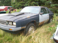 1986 Mercury Capri project