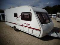 Swift Celeste 19/6 2005 6 Berth Fixed Bunk Beds Single Axle Touring Caravan
