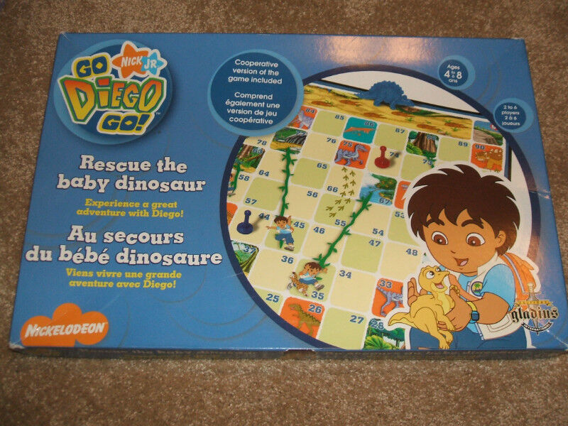 Go Diego Go! Rescue the Baby Dinosaur board game   Toys ...