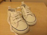 Baby Converse shoes size 3