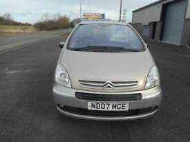 CITROEN PICASSO VTX 5 DOOR MANUAL PETROL 07 PLATE 99000 MILES