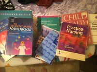 Student nursing text books