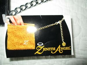 Black Zenith Angel leather Hip purse North Shore Greater Vancouver Area image 1