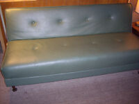 Green couch, great condition