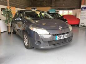 2009 59 Renault Megane 1.5dCi New Expression,Low Tax