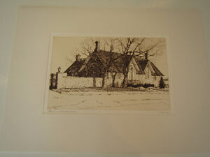 ESTATE SALE Large Collection of Original Copper Etchings