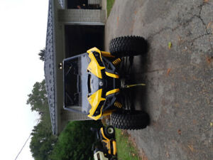 For sale 2017 can am maverick 1000r