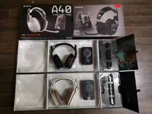 Astro A40s + Mix Amp