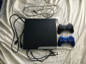 PS3, 2 controllers, 15 games