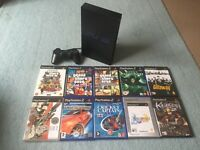 PlayStation 2 with 10 games