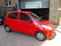Hyundai I10 1.0 BLUE (red) 2011