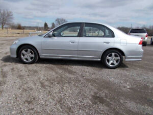 2005 Honda CIVIC 189500KM Mileage sell for $1000