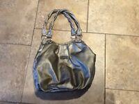 Silver Rosetti handbag