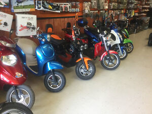 2019 ELECTRIC BIKES & SCOOTERS 3 YEAR WARRANTY!!!