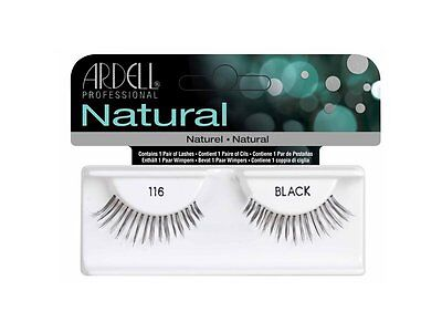 40 Pairs Ardell Natural 116 Fashion Lash Fake Eyelashes Black