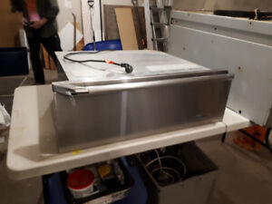 "Used Stainless 30"" Dacor warming drawer"