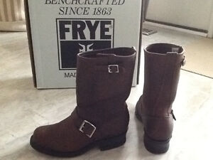 FRYE Genuine Leather Biker Boots