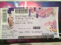 Bestival 2016 Ticket For Sale