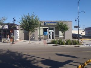 Main floor retail / office opportunity downtown Fort Sask