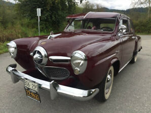 1950 STUDEBAKER CHAMPION RESTORED GREAT SHAPE