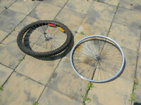 "Two 26"" bicycle front rims"