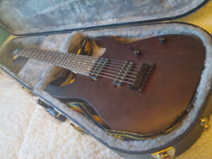 Ibanez RG7421 (comes with EVERYTHING SHOWN) - RG7421 Walnut Flat