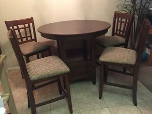 6 piece counter-height dining package