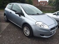 2007 57 Plate Fiat Grande Punto 1.2 Active, Petrol Grey, FSH, 12 MOT, Only 70k Miles & 2 Owners