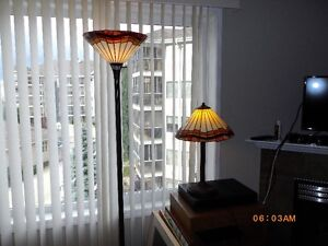 Stain glass lamps