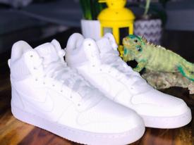 Nike Court Borough Trainers Boots White UK Size 7 EU 41 Sale 838938-11