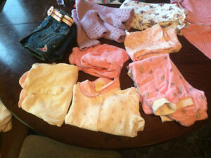 Baby girl clothes (0-18) months