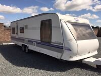 HOBBY UK SPECIAL - Immaculate condition touring caravan for sale