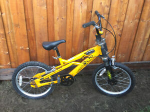Boys BMX Style bike 18 inch wheels