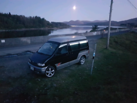 Mazda bongo automatic 4x4 pop top roof camper