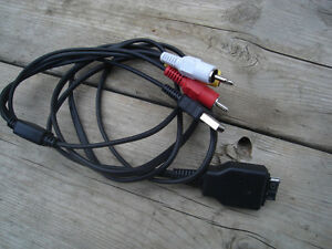 Excellent Condition Sony Type 2 Audio Video, USB Cable