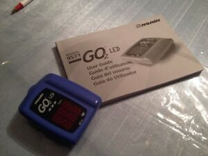 NONIN GO2 LED Oxygen Saturation Meter with Heart Beat monitor Kitchener / Waterloo Kitchener Area image 2