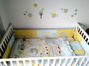 White baby bed - Lit pour bebe blanc