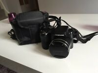 Samsung WB100 bridge camera & case