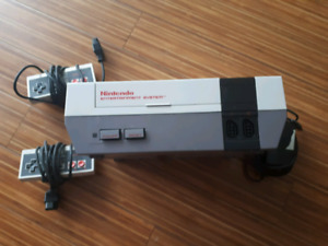 NES, controllers and cables