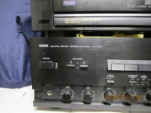 HOME STERO SYSTEM-AMP SOLD!!-WILL SELL REMAINDER FOR $150.00 London Ontario image 2