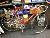 Italian Men's Road bike - 2 X 10 speed