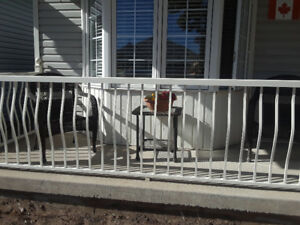 Aluminum railings for sale
